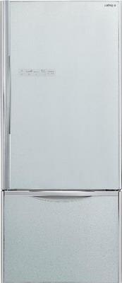 Двухкамерный холодильник Hitachi R-B 572 PU7 GS двухкамерный холодильник hitachi r v 662 pu7 bsl серебристый бриллиант