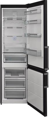 лучшая цена Двухкамерный холодильник Scandilux CNF 379 EZ D/X Dark Inox
