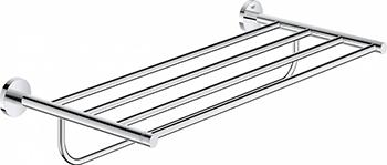 Держатель для банного полотенца Grohe Essentials 40800001 хром держатель для банного полотенца grohe essentials хром 40800001