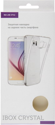 Чехол (клип-кейс) Red Line iBox Crystal для Samsung Galaxy A71 (прозрачный)