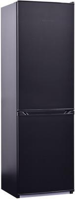 Двухкамерный холодильник NordFrost NRB 152 NF 232 черный матовый