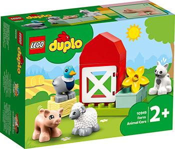 Конструктор Lego DUPLO ''Уход за животными на ферме''