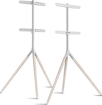 Фото - Мобильная стойка ONKRON для ТВ 32''-65'' белый TS1220 мобильная стойка под телевизор itech l503 w