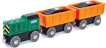 Поезд Hape E3718_HP Дизельный грузовой