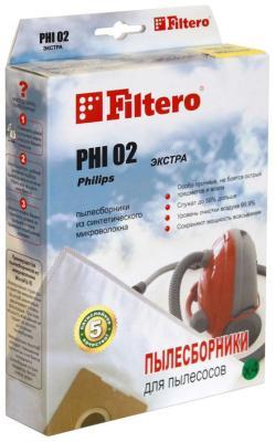 цена Набор пылесборников Filtero PHI 02 (2) ЭКСТРА