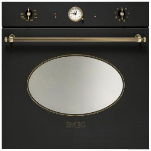 Встраиваемый электрический духовой шкаф Smeg SFP 805 AO духовой шкаф smeg sf700bs