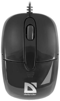 цена на Мышь Defender Optimum MS-130 black 52130