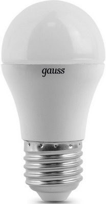 Лампа GAUSS LED Globe E 27 6.5W 4100 K 105102207 лампа gauss led globe e 27 6 5w 2700 k 105102107