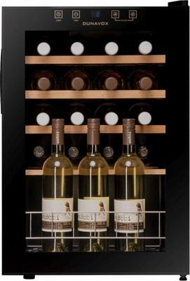 Винный шкаф Dunavox DX-20.62 KF винный шкаф dunavox dx 53 130dbk dp