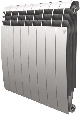 Водяной радиатор отопления Royal Thermo BiLiner 500-8 Silver Satin недорго, оригинальная цена