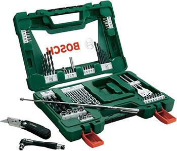 Набор бит и сверл Bosch V-Line из 68 шт. 2607017191 цена и фото