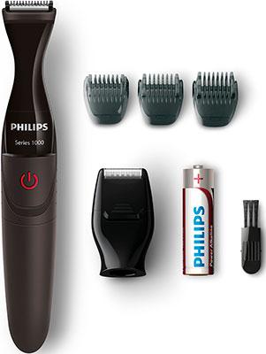 Электробритва Philips MG 1100/16 для стрижки и подравнивания бороды триммер для лица и тела philips mg 3740 15 multigroom series 3000