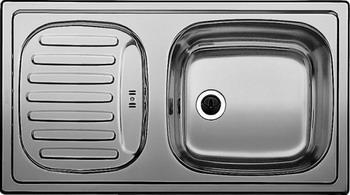 Кухонная мойка BLANCO FLEX mini нерж. сталь декор мойка blanco flex mini 511918 размер шхд 78см х 43 5см