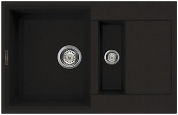 Кухонная мойка Omoikiri Sakaime 78-2-DC Tetogranit/темный шоколад (4993198) краска mastergood эластичная резиновая темный шоколад 2 4кг