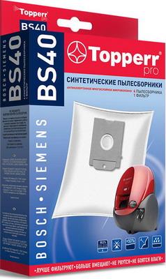 Набор пылесборники + фильтры Topperr BS 40 1427