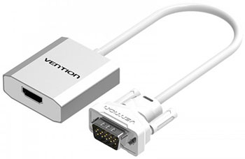 Мультимедиа конвертер Vention VGA аудио > HDMI ACEWO переходник vention hdmi 19f mini hdmi micro hdmi agdb0