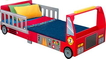 Детская кроватка KidKraft ''Пожарная машина'' 76031_KE
