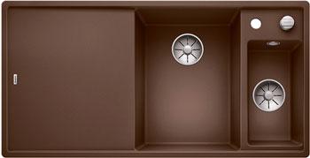 Кухонная мойка Blanco AXIA III 6 S InFino Silgranit мускат 523481 кухонная мойка blanco axia iii xl 6 s infino silgranit жасмин столик ясень 523505