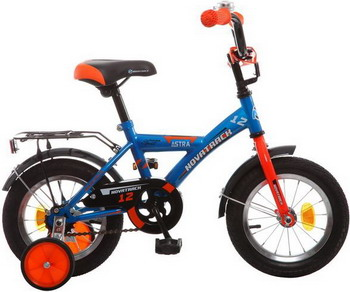 Велосипед Novatrack 12 ASTRA синий 123 ASTRA.BL5