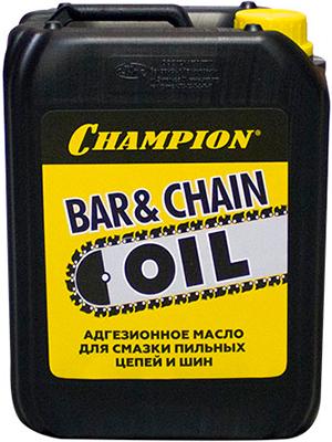 цена на Масло для смазки пильных цепей и шин Champion 5л 952828