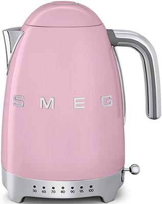 Чайник электрический Smeg KLF 04 PKEU розовый все цены