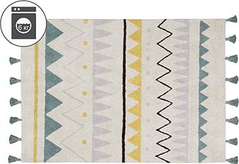 Ковер Lorena Canals Ацтекский Azteca Natural (винтажный голубой) большой 140*200 C-AZ-NVB-L