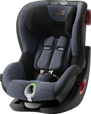 Автокресло Britax Roemer King II LS Black Series Blue Marble Highline 2000027857 автокресло britax romer king ii ls black series football edition highline