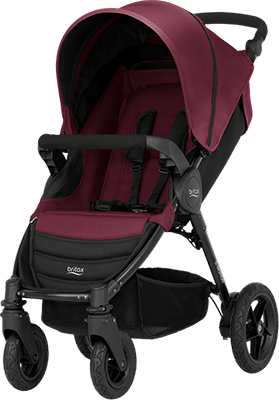 Коляска Britax Roemer B-Motion 4 Wine Red 2000025707