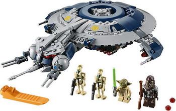 Конструктор Lego Дроид-истребитель 75233 Star Wars lego star wars вв 8 75187