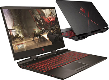 Ноутбук HP Omen 15-dc 0021 ur <4GU 59 EA> (Shadow Black)