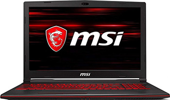Ноутбук MSI GL 63 8RC-841 RU i5-8300 H (9S7-16 P 612-841) Black replay mr66 7x16 5x112 d66 6 et37 sf