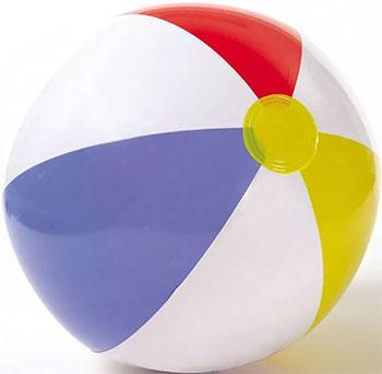 Фото - Пляжный мяч Intex 51 от 3 лет 59020 батут intex 203х69см 3 6 лет 48267