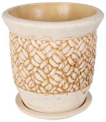 Цветочный горшок ФИТОКЕРАМИКА Латона №1 1435 цветочный горшок фитокерамика антей 2 1427
