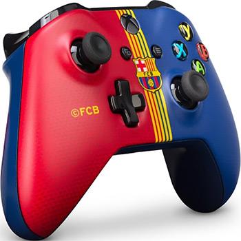 Геймпад Microsoft Xbox One Барселона «Клубный» игровая приставка xbox