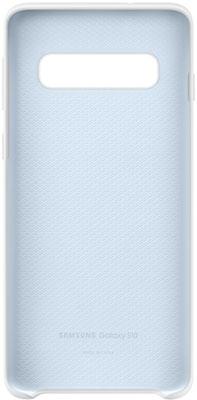 Чехол (клип-кейс) Samsung S 10 (G 973) SiliconeCover white EF-PG 973 TWEGRU