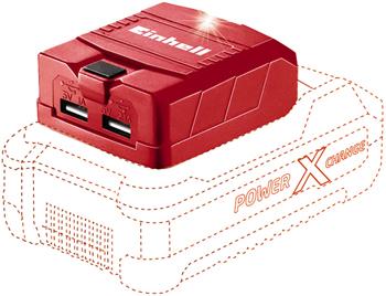 Блок для зарядки Einhell PXC TE-CP 18 Li USB-Solo 2хUSB 4514120 прямошлифовальная машина einhell pxc ce cp 18 180 li e solo 2093320