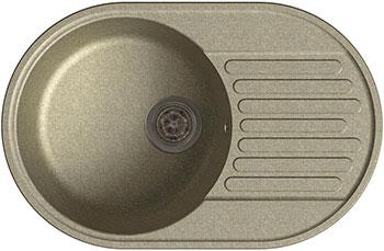 цена Кухонная мойка Lex Como 740 Space Gray серый онлайн в 2017 году