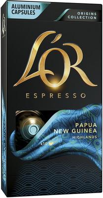 Кофе капсульный L'OR Espresso PAPUA NEW GUINEA HIGHLANDS