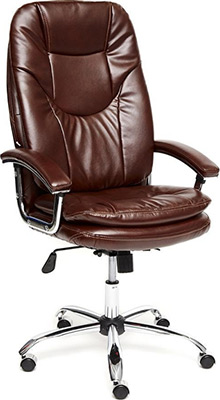 Кресло Tetchair SOFTY Lux кож/зам коричневый 2 TONE кресло офисное tetchair комфорт ст comfort st доступные цвета обивки искусств коричн кожа 2 tone