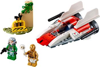 Конструктор Lego Звёздный истребитель типа А (4 ) 75247