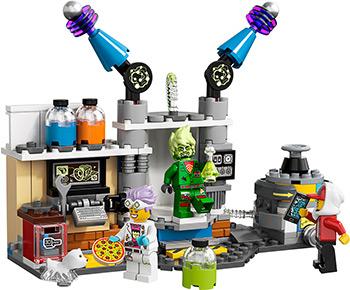 Конструктор Lego Лаборатория призраков 70418 уилсон к мир пауков маг страна призраков