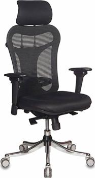 Кресло Бюрократ CH-999ASX черный компьютерное кресло бюрократ ch 999asx black