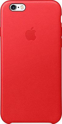 Чехол кожаный Apple Leather Case для IPHONE 6s RED(красный) MKXX2ZM/A чехол накладка apple leather case red для iphone 7 mmy62zm a кожа красный
