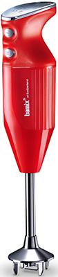 Погружной блендер Bamix DeLuxe M180 Red недорого