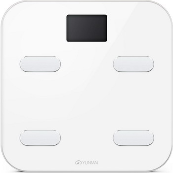Весы напольные YUNMAI COLOR M1302-WH белые