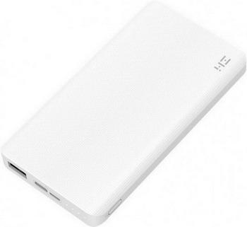 Внешний аккумулятор Xiaomi ZMI (QB810 White) 10000mAh Type-C Quick Charge 2.0 БЕЛЫЙ кабель type c lighting xiaomi zmi 100см al870 белый