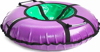 Тюбинг Hubster Ринг Хайп фиолетовый-салатовый (100см) фото