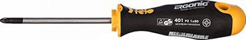 Отвертка Felo Ergonic крестовая PZ 1X80 40110210 отвертка 165i pz 3 150мм wera we 006166