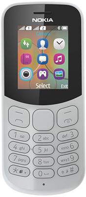 лучшая цена Мобильный телефон Nokia 130 DS (TA-1017) Grey/серый