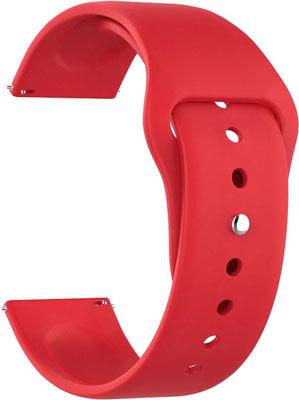 Универсальный силиконовый ремешок Lyambda для часов 20 mm ALTAIR DSJ-01-05T-20-RD Red